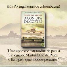 Llega a Portugal 'A Conjura de Cortés', el desenlace de la Trilogia de Martín Ojo de Plata. ¡Seguro que lo disfrutarán tanto como nosotros! - http://www.planeta.pt/livro/a-conjura-de-cortes - #AConjuradeCortes #MartinOlhodePrata #FindeSemana #PorFinEsViernes #Viernes #RumboaTierraFirme #igers#BookIgers #IgersCaribe #IgersAsensi #Libros #Libro #Love #Loveit #Novela #Asensi #MatildeAsensiFan #MatildeAsensi
