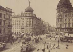 1898, Kerepesi (Rákóczi) út, 7. és 8. kerület Old Pictures, Old Photos, Vintage Photos, Neoclassical Architecture, Vintage Architecture, Most Beautiful Cities, Bucharest, Budapest Hungary, Vintage Photography