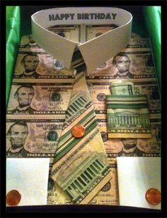 Money cake making parties gifts pinterest money cake for How to make money selling t shirts