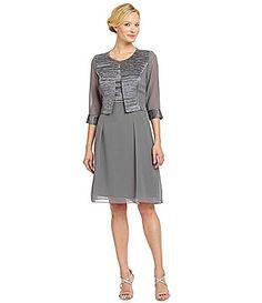 Le Bos Textured 2Piece Jacket Dress #Dillards