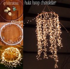 Dies und das / Nice Try Diy Hula Hoop Kronleuchter ? Lynne Seawells World Chan… This and that / Nice Try Diy Hula Hoop Chandelier ? Lynne Seawells World Chandelier Diy Chandelier diy party the Dies DIY Hoop Hula chandelier Lynne Nice Seawells and World Prom Decor, Diy Wedding Decorations, Christmas Decorations, Barn Dance Decorations, Wedding Ideas, Diy Icicle Decorations, Christmas Lights, Wedding Hacks, Christmas Yard