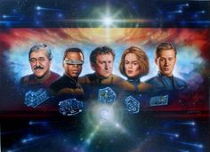 Star Trek; los jefes ingenieros, sin ellos, las naves no se movieran.