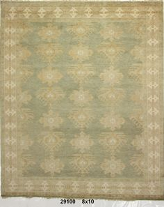 Oushaks the most popular look in traditional rugs.