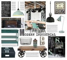 Interior whislist Modern Industrial Curtains happen to have been increasi… Mood Board Interior, Cafe Interior, Interior Styling, Interior Decorating, Cafe Industrial, Modern Industrial, Modern Loft, Industrial Design, Lofts