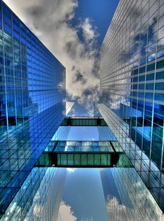 Skyscrapers - in the true sense of the word by Claude@Munich, via Flickr