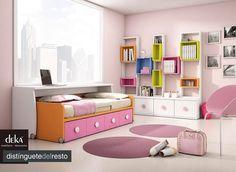 """Lo último en habitaciones infantiles y juveniles. Prepara la vuelta al cole para los más pequeños, convirtiendo su habitación en un lugar especial para ellos. Deka """"distinguetedelresto"""""""