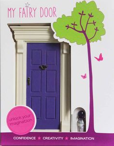 my purple fairy door by cheeky elephant | notonthehighstreet.com
