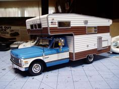 1972 Chevy Open Road Camper