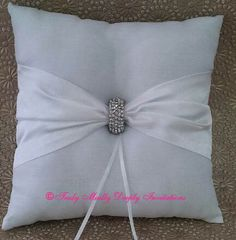 Ring Cushion with Clasp
