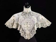 "fashionsfromhistory: "" Collar c.1900 The MET """