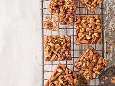 Pecan Pie Bars. These chewy, bite-size bars require just 20 minutes of prep time.