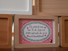 Karten lieben den Magnetrahmen / 06: Pünktlich zum ewig gleichen Spiel der guten Vorsätze zum neuen Jahr gibt's diese Karte im magnetischen Bilderrahmen. Und ehrlich gesagt, ein wenig erkennt man sich darin, oder nicht???