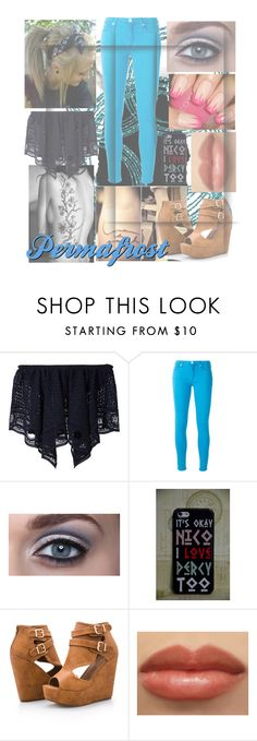 """""""Permafrost"""" by its-just-moi ❤ liked on Polyvore featuring Chloé, 7 For All Mankind and Ashley Stewart"""