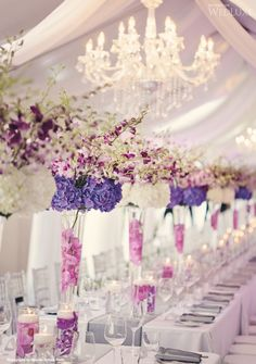 i like how much dimension the flowers bring to the tent but i dont love the arrangements persay
