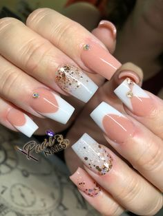 Work Nails, Get Nails, Sassy Nails, Trendy Nails, Perfect Nails, Gorgeous Nails, Flare Nails, Diy Acrylic Nails, Blush Nails