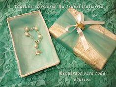 Cómo hacer recuerdos para bautizos, comunión o bodas reciclando cartón y papel   Manualidades