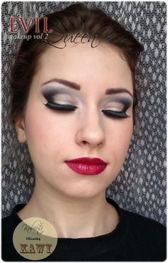 Once Upon a Time Evil Queen Makeup Look http://www.makeupbee.com/look.php?look_id=80031
