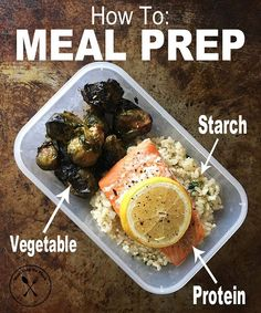 Comment below: What's your favorite 3 ingredient #mealprep combo?