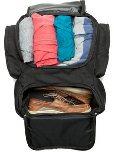 Tortuga Travel Backpack 45 packed