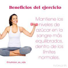 Haz ejercicio y come saludable.