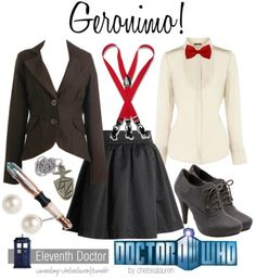 Eleventh Doctor outfit for a girl! Click to shop the individual items!