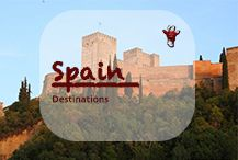 A diverse country from the Sierra Nevada with chilly temperatures in the winter and sizzling heat in the summer, stretches of endless beaches along the coasts, divided by cultural varieties and languages and reunited by the legendary Spanish pride. A country which shouldn't be left aside on Europe travels as it's countryside and the food is unique. #spain #VisitSpain #spanish