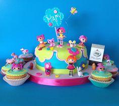 Lalaloppsy Cake and Cupcakes by Rina Padilla KEIK