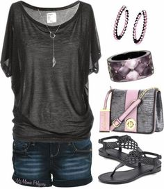 Fashion Style: Women's Fahion - Summer sets style