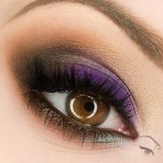 Go for a sultry purple smokey eye on your next  formal event. See the products you need to recreate this look.