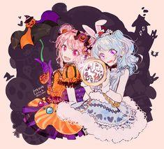 "ʟᴇɴᴏᴋ on Twitter: ""아야랑 카논이랑😆🍬🍭🐰… "" Pretty Art, Cute Art, Super Hero Life, Anime Halloween, Friend Anime, The Kingdom Of Magic, I Love Games, Pastel Palette, Darling In The Franxx"