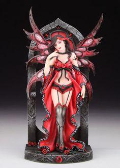 Ava - Gothic Fairy Figurine