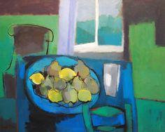 Sarah Picon, Grand plat bleu aux citrons et poires