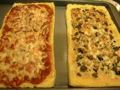 Gluten-free Polenta Pizza Crust
