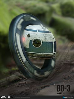 ArtStation - ILM Star Wars Challenge - The Job - DD3 Droid, Adam Middleton