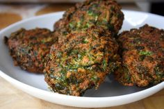 This split pea and spinach patty recipe is a rift of an Indian Vada and the West Indian Phulourie (split peas fritter). They are mostly sold as street food.