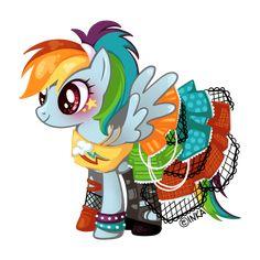 Rainbow Dash by LittleGreenFrog.deviantart.com on @deviantART