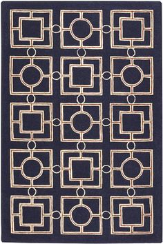 Gateway Area Rug - Hand-tufted Rugs - Wool Rugs - Transitional Rugs - Geometric Rugs | HomeDecorators.com
