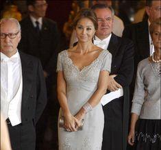 Miguel Boyer e Isabel Preysler en la cena en honor de la presidenta de Filipinas en el Palacio de Oriente