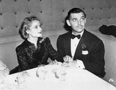 Carole Lombard and Clark Gable Dining 8x10 Photo D13   eBay