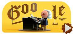 OMG! Google is way too much fun! Making music. Sebastian Bach, Google Doodles, Johann Bach, Lewis Thomas, Disney Pixar, Jordan Thompson, Jean Gabin, Instruments, Space Probe