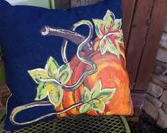 Resultado de imagen para cojines pintados dia de san valentin