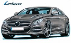 2011 Mercedes CLS Lorinser Tuning Package in the Works - autoevolution
