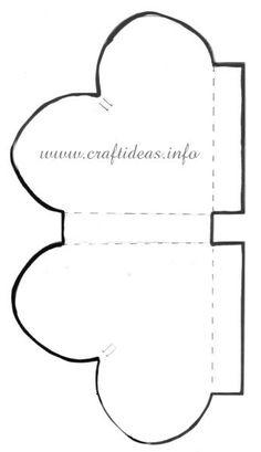 Heart box pattern
