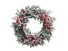 Wreath Snowy Berries