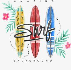 Surf Shirt, Boys Summer Outfits, Hawaiian Tattoo, Cute Patterns Wallpaper, Photo Wall Collage, Surfs Up, Kids Prints, City Art, Surfboard