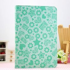 This Unique design ipad mini case will give unique charm for you. The book type design covers with dark magnet has the humanized dormancy function, not only feel comfortable, it also has the most suitable protection.