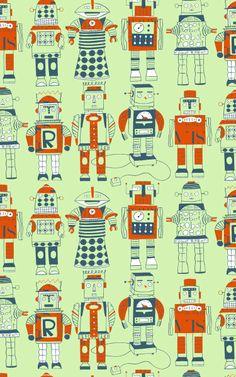 Robots wallpaper - lobolup.com
