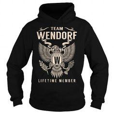 I Love Team WENDORF Lifetime Member - Last Name, Surname T-Shirt T shirts
