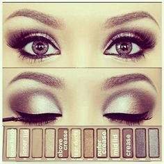 How To: Eye Makeup (1)  ~ #AllThingsTanning #Beauty #Makeup