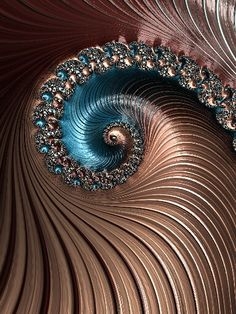 Fractal -- could be the eye of a dragon